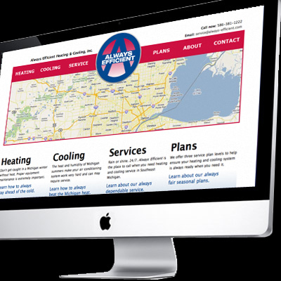 always-efficient.com website designed and developed by tait enterprises